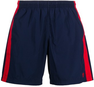Alexander McQueen Side Stripe Swim Shorts