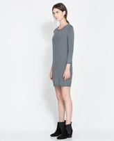 Zara Zip-Back Dress