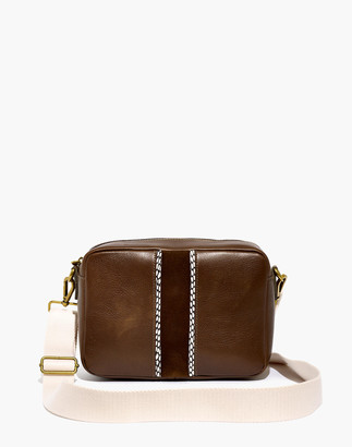 Madewell The Large Transport Camera Bag: Suede Inset Edition