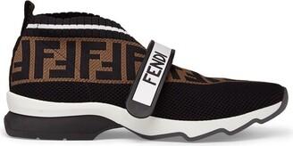 Fendi Black Fabric Sneakers