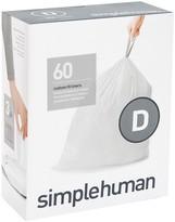 Williams-Sonoma Williams Sonoma simplehumanTM; (D) Custom Fit Trash Can Liners, 60pk