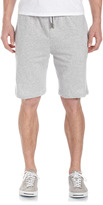 American Essentials Drawstring Heather Shorts, Gray