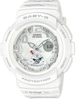 G-Shock Women's Analog-Digital Hello Kitty White Resin Strap Watch 44.3mm - a Limited Edition