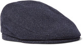 Lock & Co Hatters - Mélange Virgin Wool Flat Cap