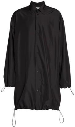Bottega Veneta Matt Ultra Lightweight Drawstring Jacket