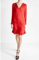Velvet Fluid Dress