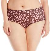 Goddess Women's Plus-Size Kayla Brief