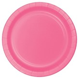 Orange Disposable Plate 8 Count