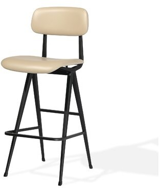 "Industrial Modern Pedrali Soft Seat 30"" Bar Stool"