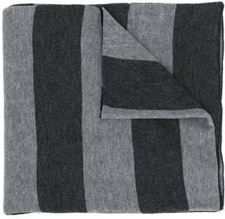 Michael Kors striped intarsia scarf