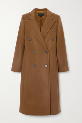 Nili Lotan Matthew Double-breasted Wool Coat - Camel