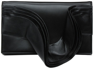 Valentino Black 04 Rouches Edition Atelier Clutch