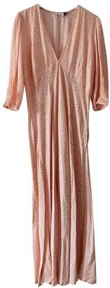 Rixo Pink Viscose Dresses