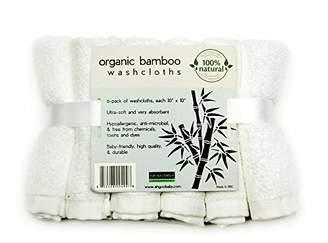 Ah Goo Baby Washcloth, Organic Bamboo