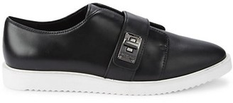 Karl Lagerfeld Paris Celina Patent Leather Loafers