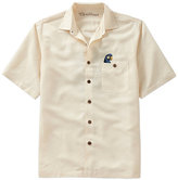 Caribbean Short-Sleeve All For Rum Embroidered Woven Shirt