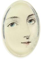 John Derian Portrait Glass Oval Paperweight