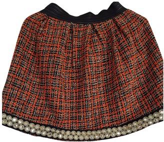 Lm Lulu Multicolour Wool Skirt for Women