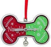 Hallmark 2017 Naughty or Nice Dog Gift Ornament