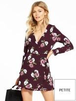 Miss Selfridge Petite Floral Print Tea Dress
