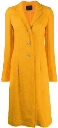 Joseph Tweed Single-Breasted Coat