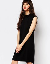 Just Female Trapeze Dress in Jersey