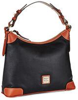 Dooney & Bourke Pebbled Leather Hobo Bag