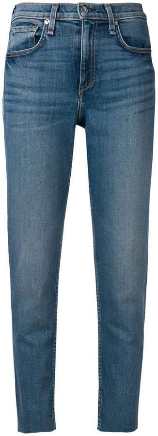 Rag & Bone ankle cigarette jeans