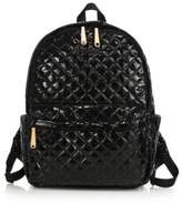 MZ Wallace Metro Lacquered Quilted Nylon Backpack