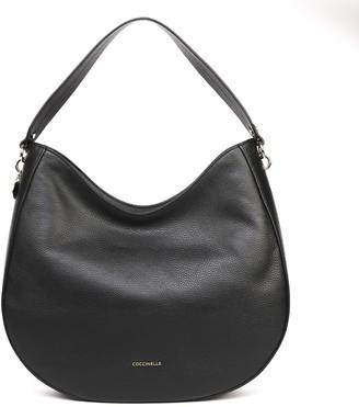 Coccinelle Alpha Black Shoulder Bag