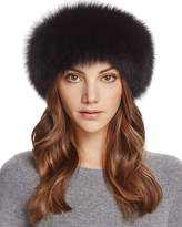 Maximilian Furs Fox Fur Knit Headband