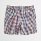 J.Crew Factory Two-color tattersall boxers