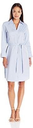 Foxcroft Women's 3/4 Sleeve Non Iron Taylor Shirt Dress