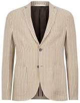 Pal Zileri Jacquard Stripe Blazer
