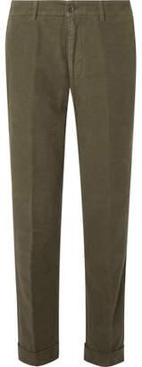 Aspesi Slim-Fit Cotton-Moleskin Trousers