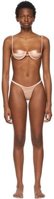 Isa Boulder Pink Continuous and Forward Bikini