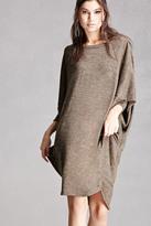 Forever 21 FOREVER 21+ Marled Knit Batwing Dress