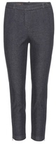 Loro Piana Davis cropped denim trousers
