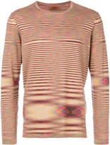 Missoni long sleeved printed T-shirt