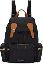 Burberry Black Nylon Backpack