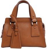 Giorgio Armani Mini Le Sac 11 Leather Top Handle Bag
