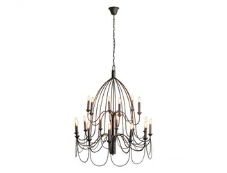 One World Large Arm Chandelier