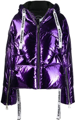 Khrisjoy zipped padded jacket