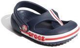 Crocs CROCSTM 'Crocband' Flip Flop (Walker, Toddler & Little Kid)