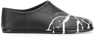 Maison Margiela leather Tabi Babouche loafers