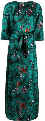 Diane von Furstenberg Caris floral maxi dress