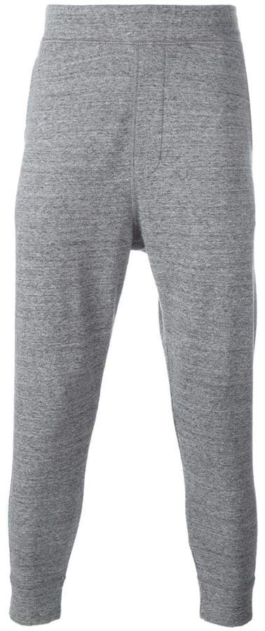 DSQUARED2 dropped crotch track pants
