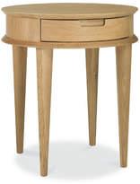 Malmo Lamp Table Timber: Natural Oak