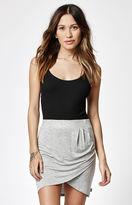 rhythm Twist Ruched Mini Skirt
