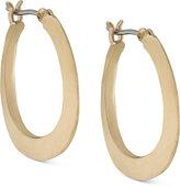 Lauren Ralph Lauren 14k Gold-Plated Sculptured Hoop Earrings